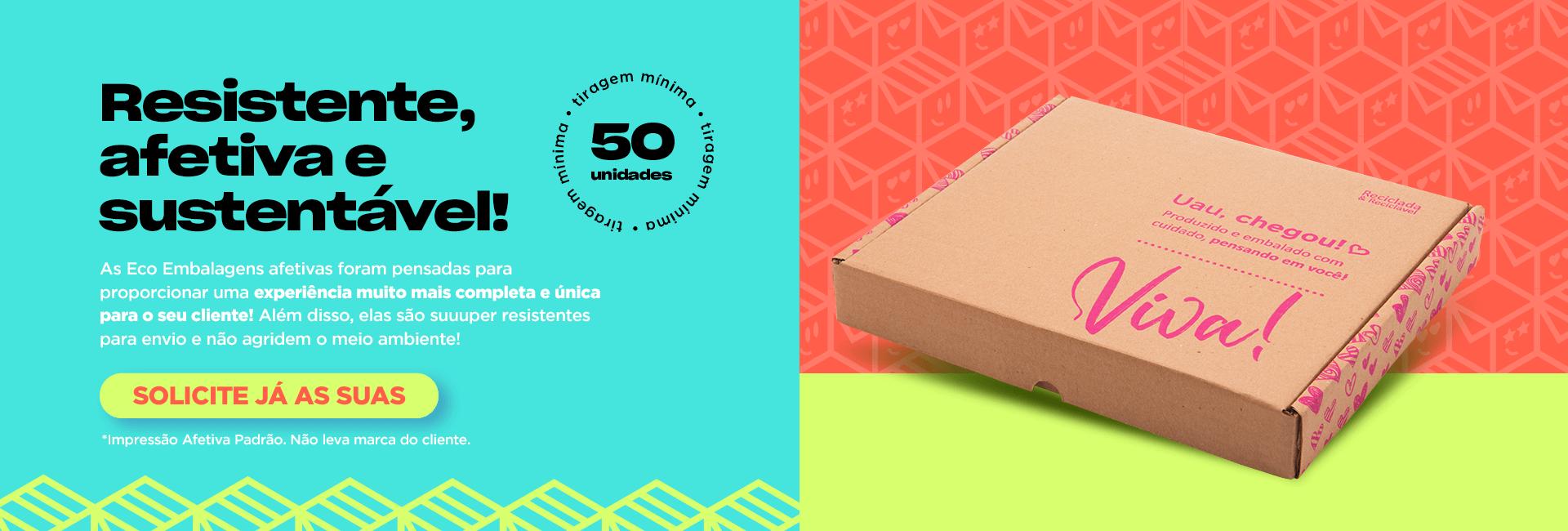 Magnani Embalagens - Caixas Montáveis/Sedex Coleção Viva
